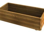 Fioriera legno domino
