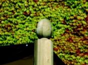 Decorazione colonne gazebo in legno