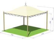GAZEBO-LEGNO-OUTDOOR 3D