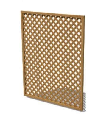 Griglia legno da esterno