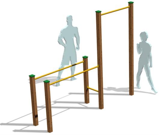 attrezzi workout per esterno