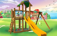 Castelli in legno - Torri arrampicata