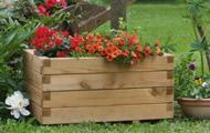 Fioriere  in legno, vasi orticoltura.